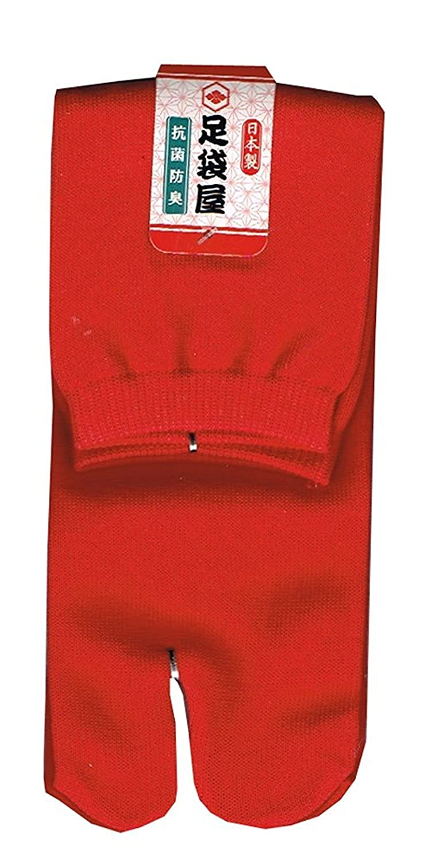 足袋屋 日本製 抗菌防臭 足袋 ソックス 22-25cm