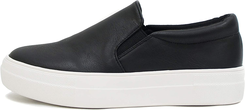 Soda Hike ~ Slip On Double Layer Foam Padded Cushion Sock Fashion Sneakers