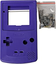 eJiasu Full Replace Parts Housing Shell Pack for Nintendo GBC Gameboy Color (Blue Case 10PCS)