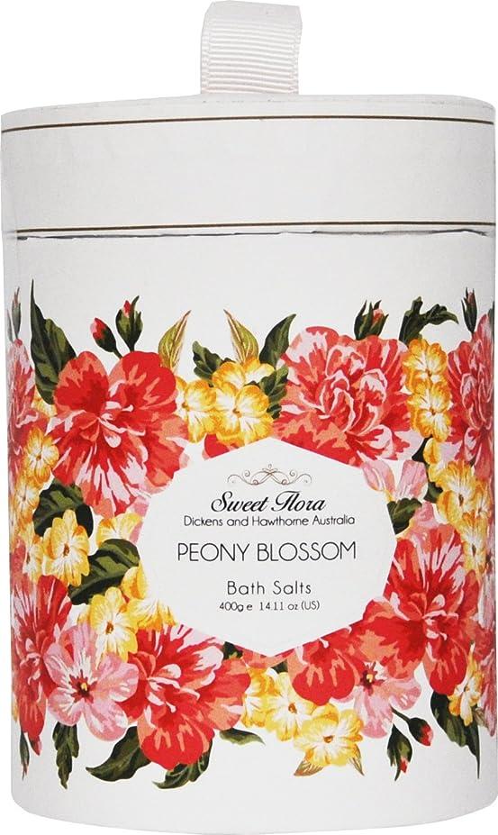 殺しますトライアスリート飲み込むSweet Flora スウィートフローラ Bath Salt バスソルト Peony Blossom ピオニーブロッサム