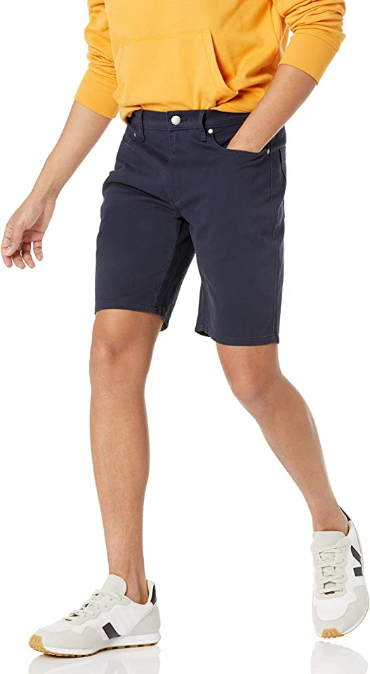 Amazon Essentials Men's Straight-fit 7 Inseam Stretch 5-Pocket Short