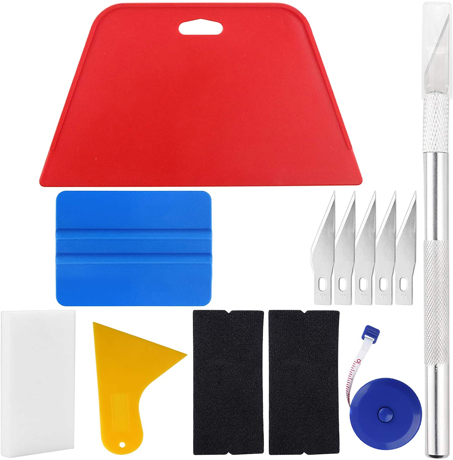 Wallpaper Smoothing Tool Dedication Atlanta Mall Kit Blue Squeegee Red Include