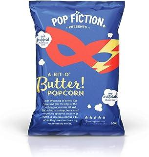 J.C.'S QUALITY FOODS Pop Fiction Butter Popcorn, 100 g