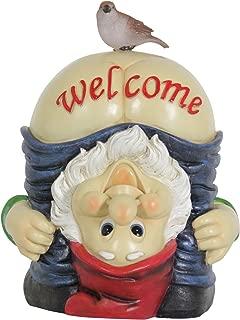 Exhart Full Moon Gnome Welcome Garden Statue - 9