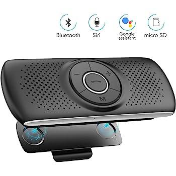 Sunitec BC936 - Kit vivavoce Bluetooth per auto - Altoparlante