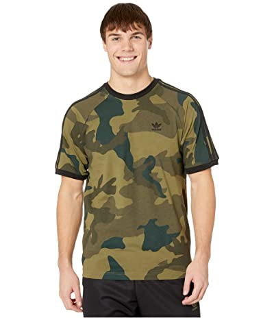 adidas Originals Camo Cali Tee (Multicolor) Men