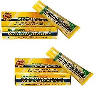 Wound Honey, Manuka Honey Wound Cream with Active Manuka Honey (One Color, 2 Pack)