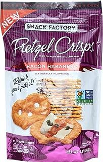 Snack Factory (NOT A CASE) Pretzel Crisps Bacon Habanero