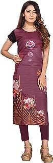 Ty Women's Crepe Stitched Kurti (Multi)