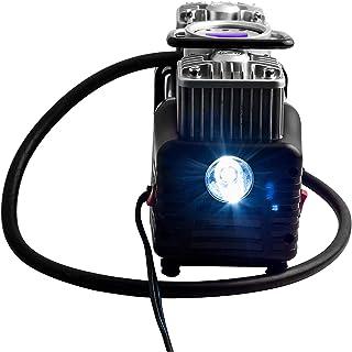Betlex Digital Triple High Speed Double Cylinder Nuclear Car Air Compressor- Black (100% Copper Winding, 12V/220W/160PSI, ...