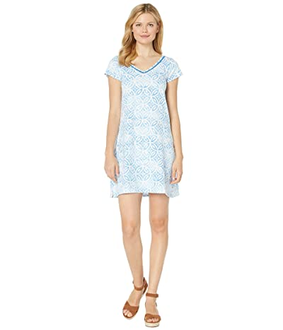 Hatley Marina Dress (Etched Mandella Blue) Women