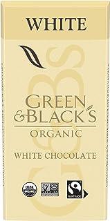 GREEN & BLACK'S Organic White Chocolate Bar, 30% Cacao, 1 Bar (3.17 oz.)