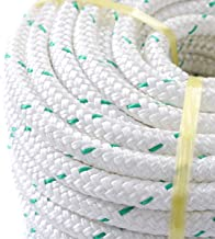 """NEW 3/7"""" x 150' Double Braid Polyester Bull Rope Cord Sling, 5900Lbs Tensile Strength, Great for Tree Work, Cargo, Sailing, Rigging, Outdoor, Climbing, Camping, Marine, General Purpose and Etc"""