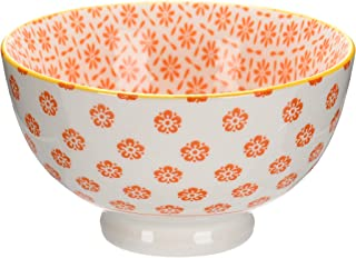 وعاء حجري 11 سم - قطعة واحدة، برتقالي، A130615