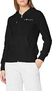 Champion Sweatshirt à Capuche Zippé Classic Small Logo, Femme