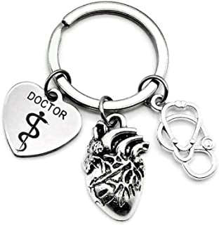 doctor symbol keychain