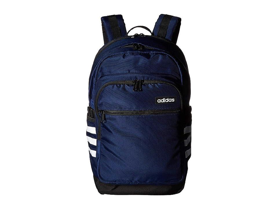 adidas Core Advantage Backpack (Dark Blue/Black/White) Backpack Bags
