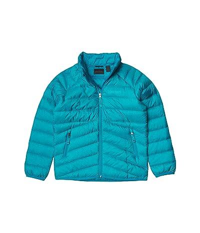 Marmot Kids Highlander Down Jacket (Little Kids/Big Kids) (Enamel Blue) Girl