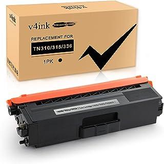 V4INK Compatible High Yield Brother TN336 TN315 TN310 TN331 Black Toner Cartridge for Brother TN-315 TN-336 BK Toner HL-L8...