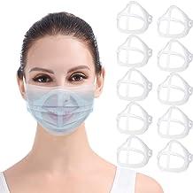 Soporte 3D para mascarilla 10PCS Máscara transparente Marco de soporte interno Mantenga la tela fuera de la boca para crea...