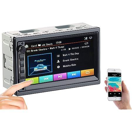 Auna Md 210 Bt Autoradio Car Radio Car Hifi Set Elektronik