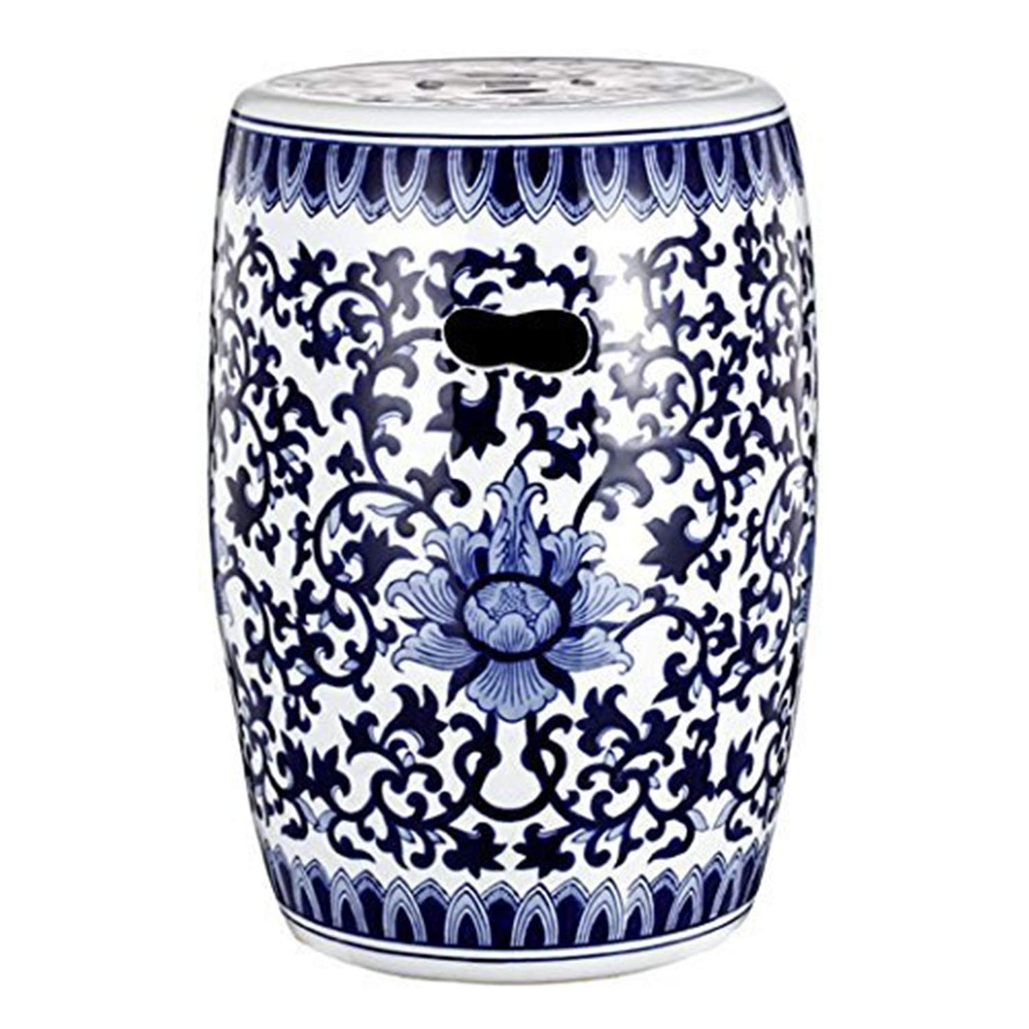 AB Home Garden Stool Classic Vintage Max 67% OFF Blue Deluxe