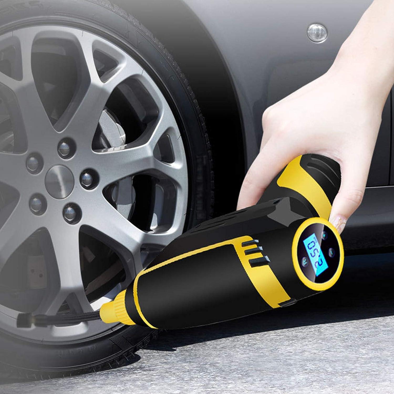 Auto Tire Air Compressors Portable Inflator w El Product Paso Mall Gadgets Car