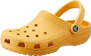 Crocs Unisex Classic Clog, Orange Sorbet, 7 UK Men/ 8 UK Women