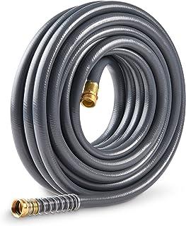 Gilmour 874501-1001 Flexogen Super Duty Garden Hose Gray 5/8 inch x 50 feet, Gray,Green