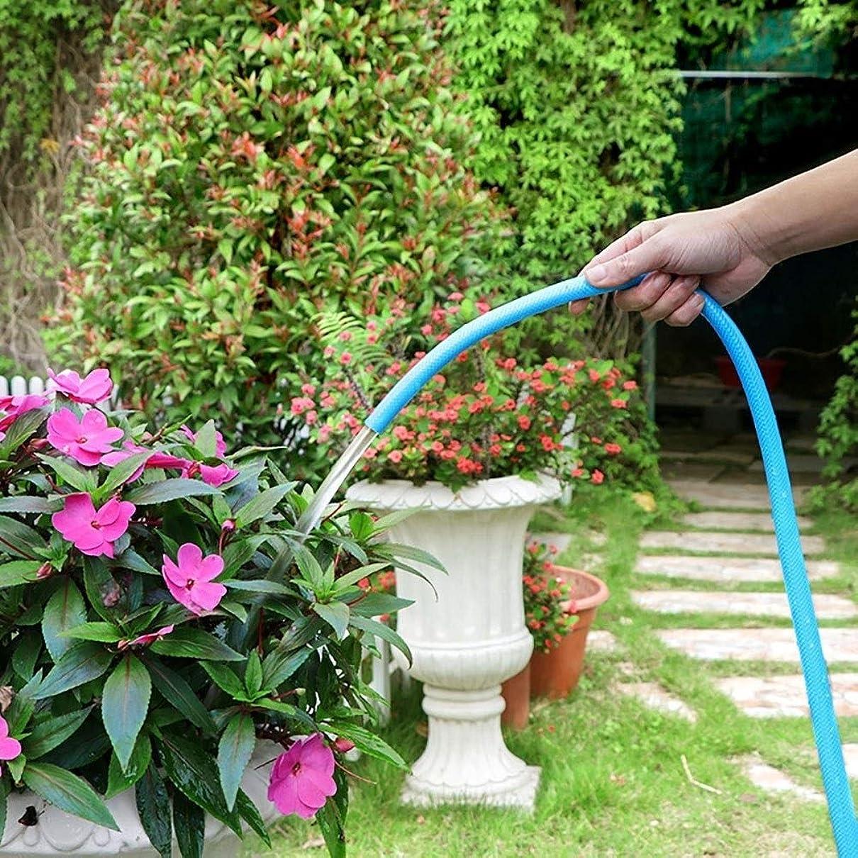 有能な浸した操縦するZLI ガーデンホース 散水や洗車用ガーデンホース、3つの層の世帯または専門の水まきの必要性のための適用範囲が広い1/2inchポリ塩化ビニールの水道管 (Size : 30m(98ft))