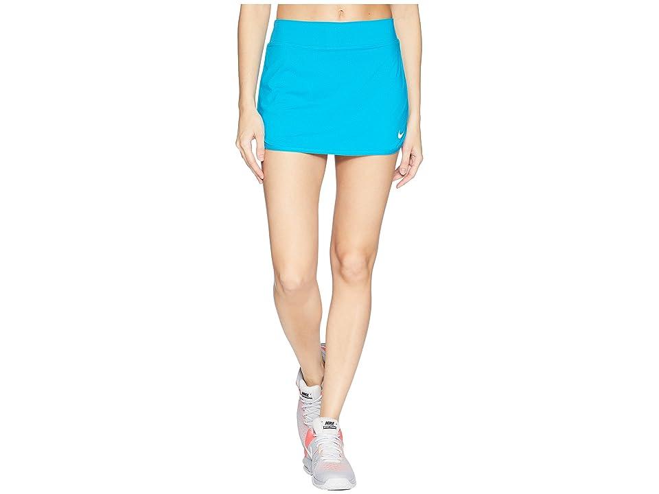 Nike Court Pure Tennis Skirt (Neo Turquoise/White) Women
