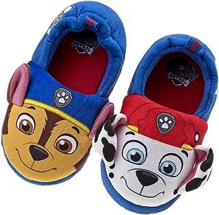 Paw Patrol Boys and Girls Plush Slip On Slippers (Toddler/Little Kid)