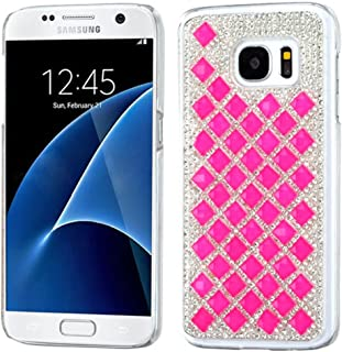 MyBat Cell Phone Case for Samsung G930 (Galaxy S7) - Retail Packaging - Hot Pink