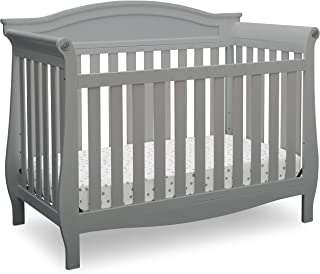 Delta Children Lancaster 4-in-1 Convertible Baby Crib, Grey