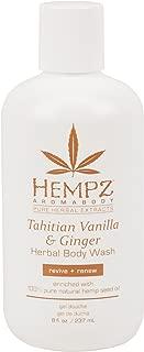 Best hempz tahitian vanilla and ginger body scrub Reviews