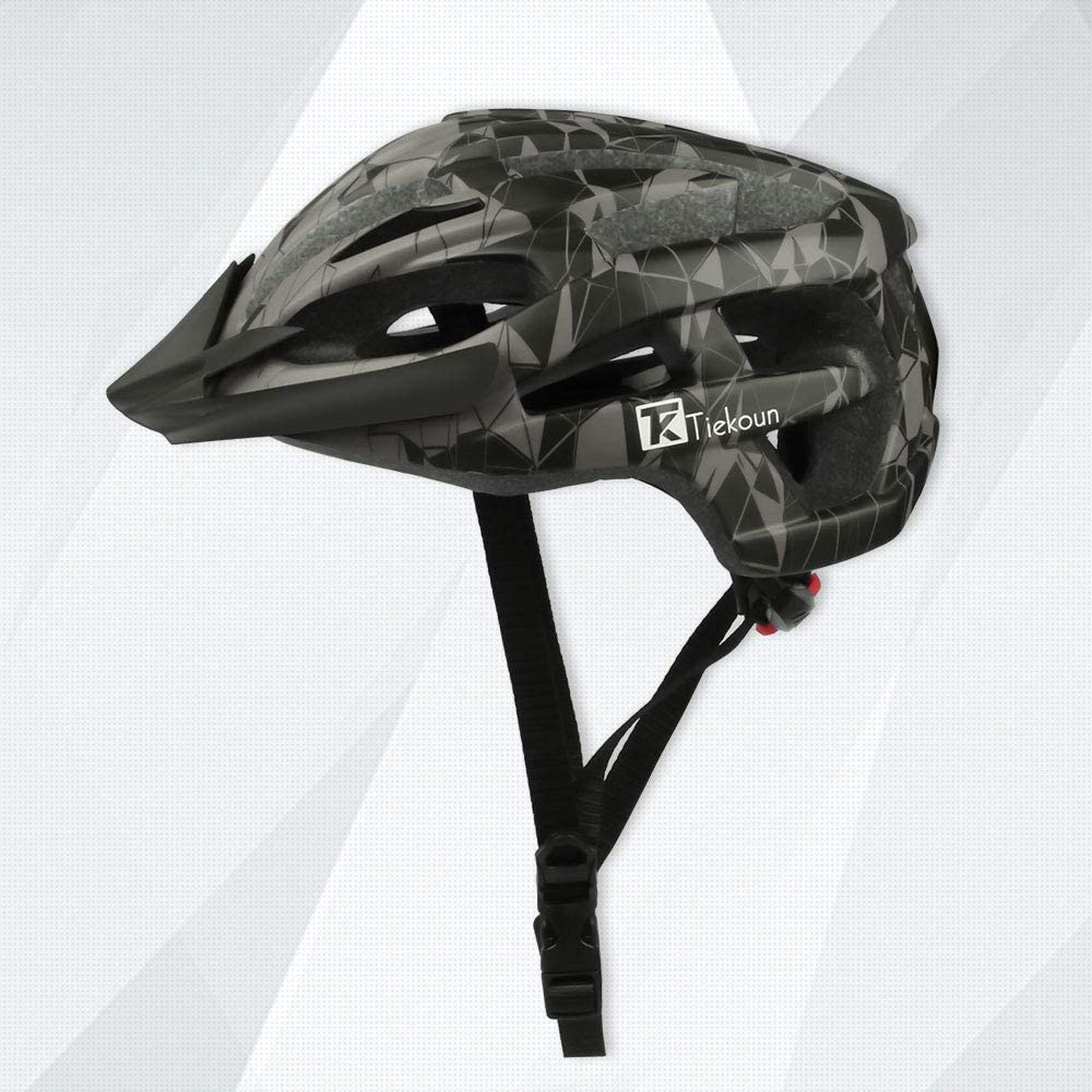 Tiekoun Tulsa Mall Safety Seattle Mall Breathable Lightweight Adjus Helmet Bike Cycling
