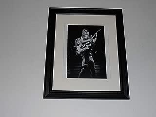 Framed Ozzy Osbourne Randy Rhoads 1981 on stage Black Sabbath 14