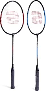 HMD Collections Badminton Set with 12 Shuttle Cocks - Racket Length 68 cm