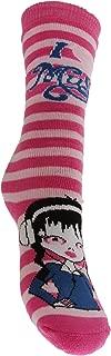 Childrens Big Girls Wellington/Welly Long Boot Socks (6 Designs)