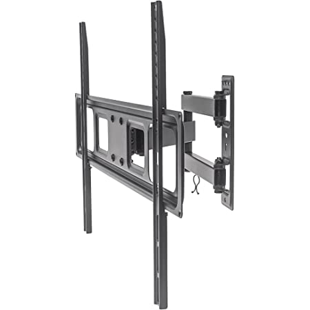 MANHATTAN Full-Motion TV Wall Mount - with Swivel, Tilt, & Level Adjustment - Supports TVs from 37 inch to 70 inch Weighing up to 77 lbs - 461337