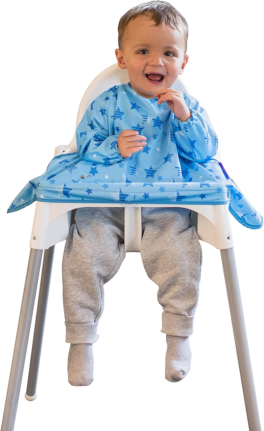Tidy Tot Cover Catch Waterproof Bib attaches highchair Baltimore low-pricing Mall NO to M