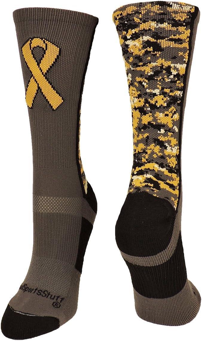 MadSportsStuff Salute to Service Military Awareness Athletic Crew Socks