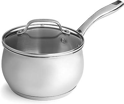 Tasty - 6 Piece Premium Stainless Steel Cookware Set