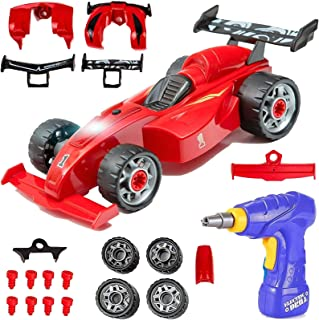 Liberty Imports Kids Take Apart Toys | Build Your Own Formula Race Car Toy Vehicle Construction Playset | Realistic Sounds...