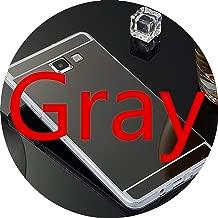 Original Mirror TPU Cases for Samsung Galaxy A3 A5 A7 J3 J5 J7 J1 S9 S8 Plus S6 S7 Edge Grand Prime Case Slim,Gray,S6