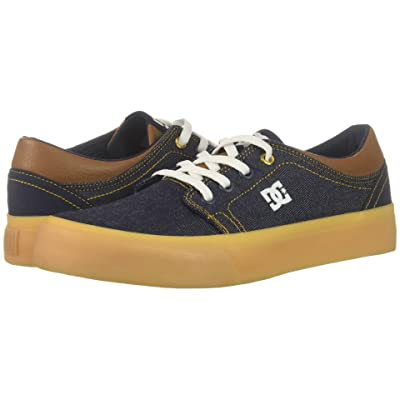 DC Kids Trase TX SE (Little Kid/Big Kid) (Dark Denim) Boys Shoes