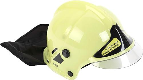 Klein - 8944 - Jeu d'imitation - Casque de pompier F1 phosphorescent avec visière fixe et protège-nuque