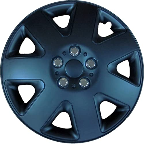 Simply SWT122 Prime (Black) Wheel Trims, 16 inch, Set of 4