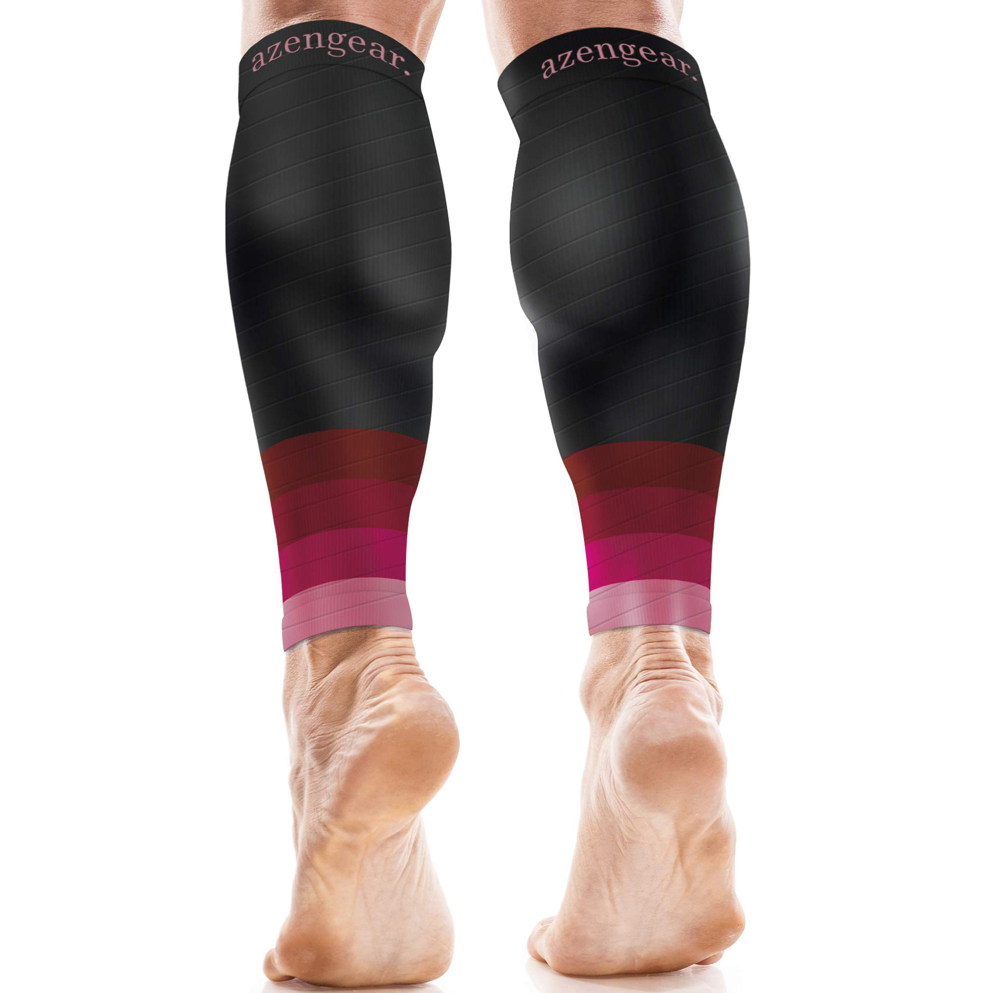 Good for DVT Recovery Compression Calf Guards Sleeves Men /& Women 20-30mmhg