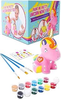 GirlZone: Paint Your Own Unicorn Money Box for Girls